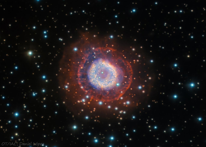 VCSE - NGC 2438 - Mai kép
