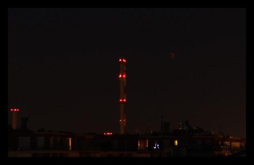 Gálicz Eszter felvétele a 2011. június 15-i holdfogyatkozásról - VCSE - VEGA