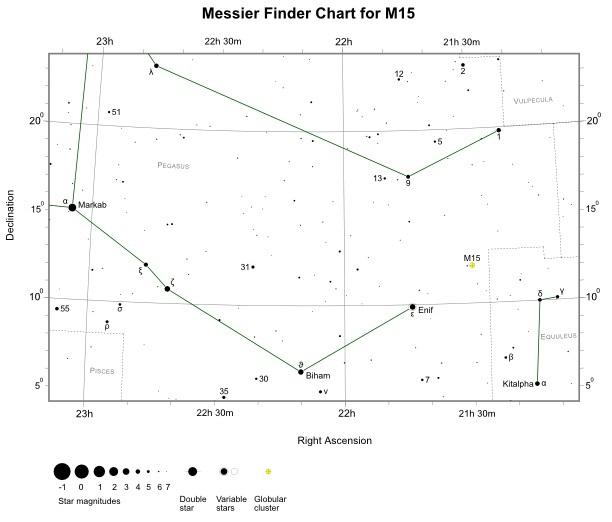 VCSE - M15 keresőtérkép