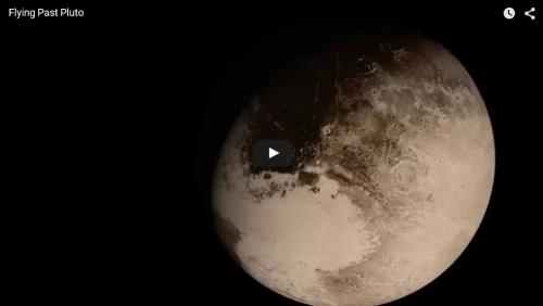 VCSE - Mai kép - Az elsuhanó Pluto